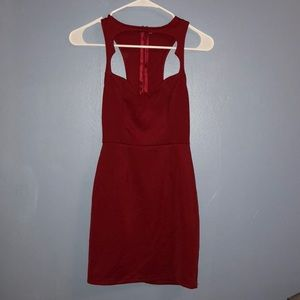 Sexy Red dress from Tobi!